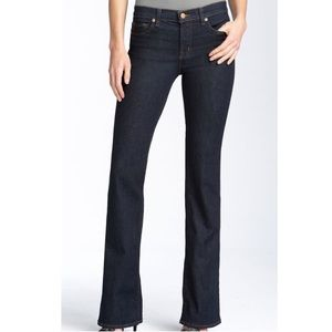 J Brand 818 Mid Rise Slim Bootcut Stretch Jeans